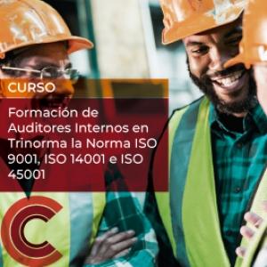 Formacion de Auditores Internos en Trinorma la Norma ISO 9001, ISO 14001 e ISO 45001