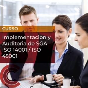 Implementacion y Auditoria de SGA  ISO 14001 / ISO 45001