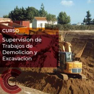 Supervision de Trabajos de Demolicion y Excavacion